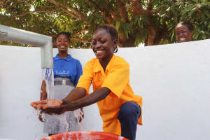 The Water Project: Kankalay Primary and Secondary School -  Smiles For Reliable Water