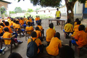 The Water Project: Kankalay Primary and Secondary School -  Students At The Training