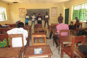 The Water Project: Kankalay Primary and Secondary School -  Teachers Participate In The Training
