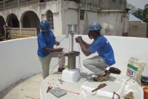 The Water Project: Lungi, Yongoroo, #7 Kamara Taylor Street -  Pump Installation