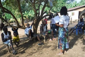 The Water Project: Polloth Village, Kroo Town Area -  Covid Sensitization