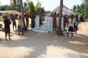 The Water Project: Polloth Village, Kroo Town Area -  Dedication Celebration