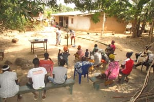 The Water Project: Polloth Village, Kroo Town Area -  Handwashing Demonstration