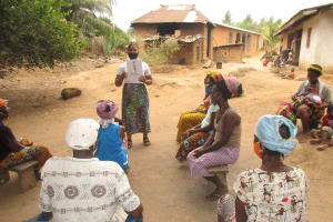 The Water Project: Polloth Village, Kroo Town Area -  Hygiene And Sanitation Training