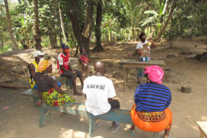 The Water Project: Polloth Village, Kroo Town Area -  Lesson On Diarrhea