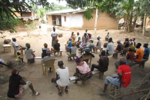 The Water Project: Polloth Village, Kroo Town Area -  People At The Hygiene Training