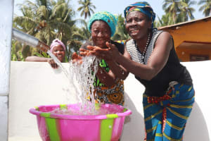 The Water Project: Polloth Village, Kroo Town Area -  Well Celebration