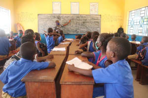 The Water Project: Masoila Roman Catholic Primary School -  Students In Class
