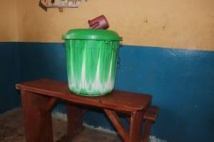 The Water Project: Masoila Roman Catholic Primary School -  Water Storage