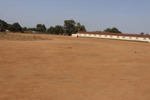 The Water Project: Lungi, Masoila, St. Joseph Junior Secondary School -  School Field