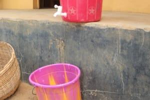 The Water Project: St. Joseph Senior Secondary School -  Handwashing Station