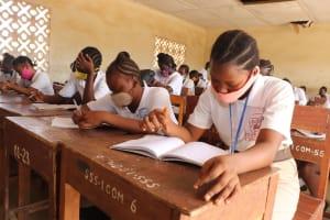 The Water Project: St. Joseph Senior Secondary School -  Students Inside Classroom