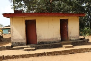 The Water Project: Shepherd Foundation, New Apostolic Church and Primary School -  Latrine
