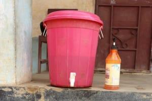 The Water Project: Shepherd Foundation, New Apostolic Church and Primary School -  Handwashing Station