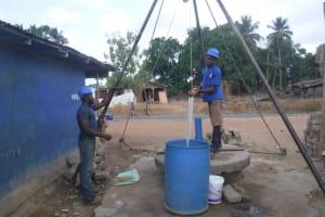 The Water Project: Kamasondo, Borope Village, Main Motor Rd. Junction -  Bailing