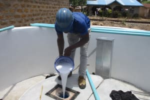 The Water Project: Kamasondo, Borope Village, Main Motor Rd. Junction -  Pump Installation