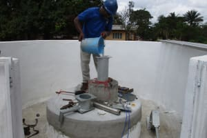 The Water Project: Kamasondo, Robombeh Village, Next to Mosque -  Chlorination