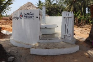 The Water Project: Polloth Village, Kroo Town Area -  Finished Project