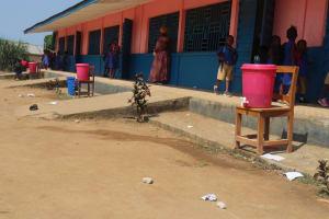 The Water Project: Masoila Roman Catholic Primary School -  Handwashing Stations