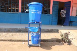 The Water Project: Masoila Roman Catholic Primary School -  Handwashing Station