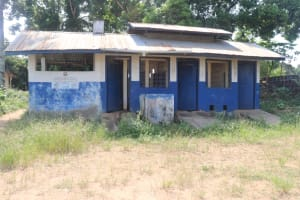 The Water Project: Masoila Roman Catholic Primary School -  School Latrine