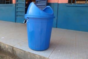 The Water Project: Masoila Roman Catholic Primary School -  Trash Bin