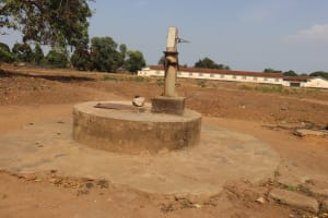 The Water Project: Lungi, Masoila, St. Joseph Junior Secondary School -  Well In Need Of Rehab