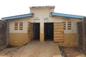 The Water Project: St. Joseph Senior Secondary School -  Latrine