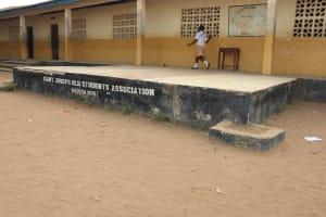 The Water Project: St. Joseph Senior Secondary School -  School Stage