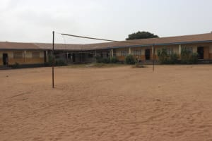The Water Project: St. Joseph Senior Secondary School -  Volleyball Court