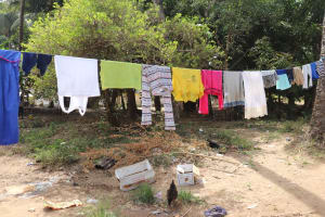 The Water Project: Lungi, Targrin, #11 King Street -  Clothesline