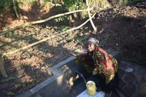 The Water Project: Khaunga A Community, Murutu Spring -  Celebrating The Spring