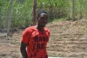 The Water Project: Bukhaywa Community, Violet Inganji Spring -  David