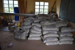 The Water Project: Friends School Manguliro Secondary -  Construction Materials