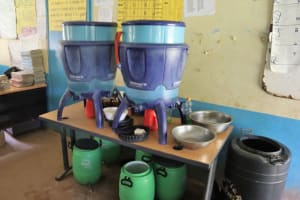 The Water Project: Bukhakunga Primary School -  Lifestraw Water Filters Inside The Staff Room