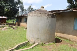 The Water Project: Bukhakunga Primary School -  The Dry Tank At The School Compound