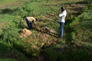 The Water Project: Ikoli Community, Odongo Spring -  Delivering Gravel