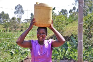 The Water Project: Indulusia Community, Wanyama Spring -  Happy Faces At The Spring
