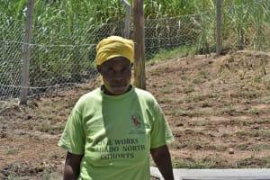 The Water Project: Bukhaywa Community, Violet Inganji Spring -  Violet Inganji