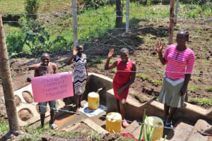 The Water Project: Indulusia Community, Wanyama Spring -  Thank You From The Whole Community