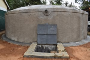 The Water Project: Friends School Manguliro Secondary -  Complete Tank With Water Flowing