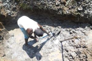 The Water Project: Musango Community, Wambani Spring -  Excavation