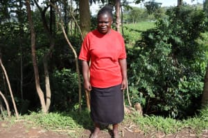 The Water Project: Malekha West Community, Soita Spring -  Margret Musa