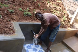 The Water Project: Malekha West Community, Soita Spring -  Water Celebrations