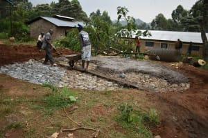 The Water Project: Lwombei Primary School -  Concrete On Hardcore