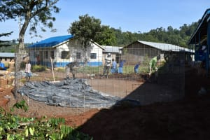 The Water Project: Lwombei Primary School -  Building Tank Walls