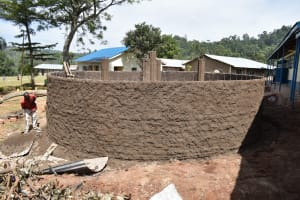 The Water Project: Lwombei Primary School -  Plaster Works