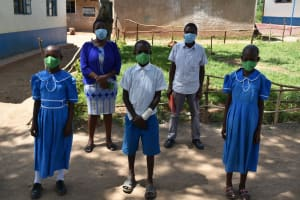 The Water Project: Lwombei Primary School -  Chosen Ctc Leadership