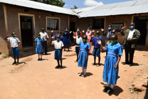 The Water Project: Lwombei Primary School -  Contactless Greetings