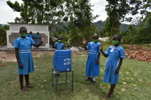 The Water Project: Lwombei Primary School -  Handwashing Stations